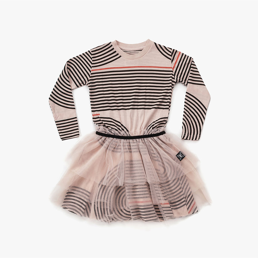 Spiral tulle dress (Kids)