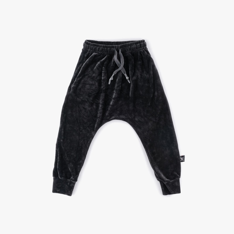 Velvet baggy pants (Kids)