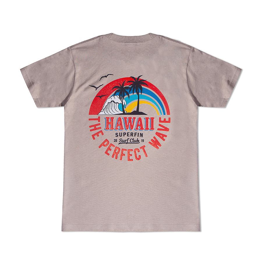 S/S HAWAII WAVE 반팔 티셔츠